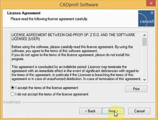 cai cadprofi free 4
