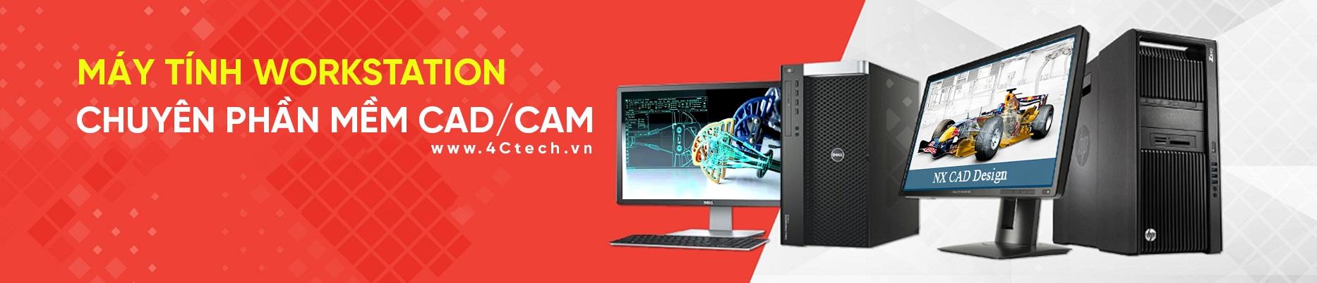 Máy Tính HP Workstation Chuyên Phần Mềm CAD/CAM Z4 G4