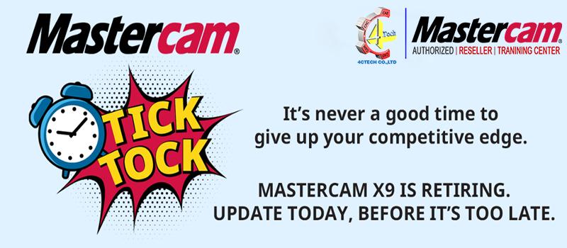 MasterCAM X9 ngung ho tro