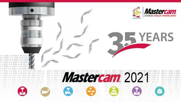 MasterCAM 2021 35 YEAR 01
