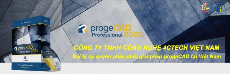 progeCAD 2021 header