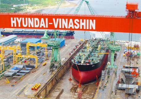 Hyundai Vinashin shipyard Vietnam